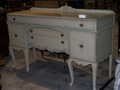 Queen Anne Buffet Sideboard Convert To Sink Cabinet