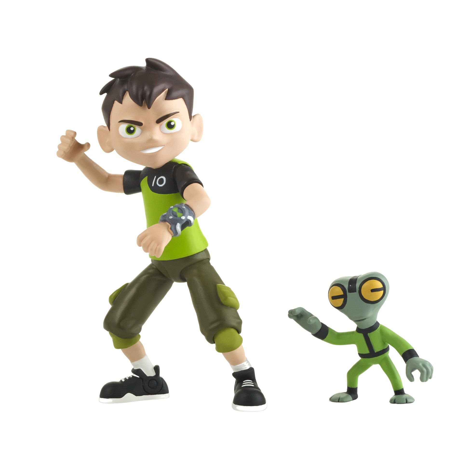 Ben 10 Ben Grey Matter Basic Figure Ben Uses The Power Of The Omnitrix To Help Others And Stop The Bad Guys Ben 10 Action Figures Action Figures Toys Ben 10