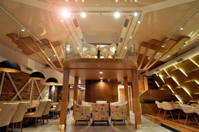 endorfino cafe restaurant design einrichtung holz elemente ...