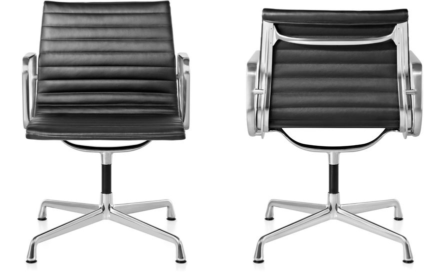 eames® aluminum group - side chair