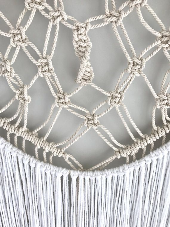 Large macrame wall hanging tapestry boho wall decor yarn | Macrame ...