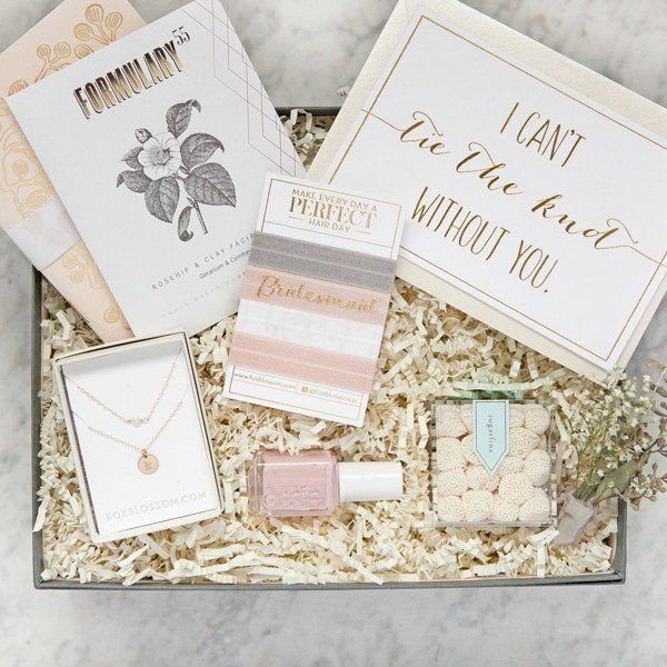 Best Bridesmaid Gifts Ever | Bridesmaid Gift Box No 2 Best Bridesmaid Gifts Bridal Party Gifts