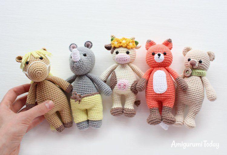 Cuddle Me Pony amigurumi pattern   Háčkované hračky-zvířátka ...