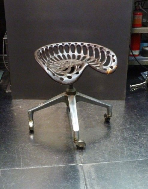 The Ultimate Welding Stool Flamingsteel Com Roy Mackey