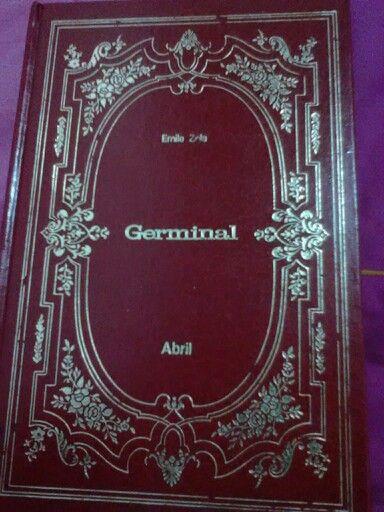 """Livro 14: Um livro com uma palavra no título. """"Germinal"""" - Emile Zola"""