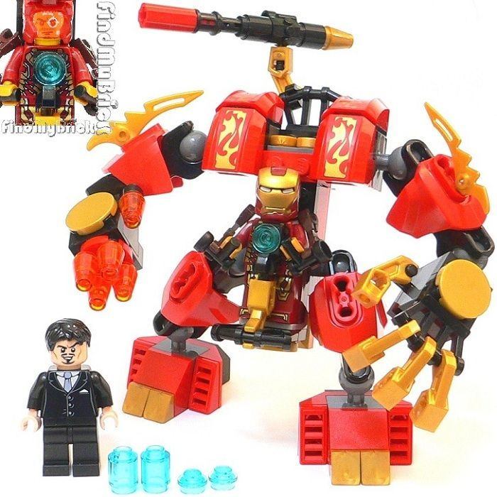 Lego Ironman Mech | For Gregory | Pinterest | Lego and ...