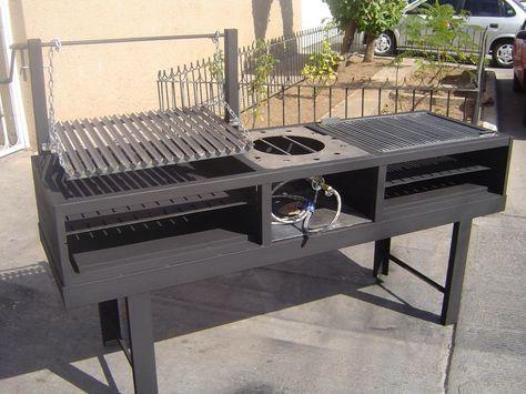 Asadores de carne ar campestre 8 ideas para - Parrillas para asar carne ...