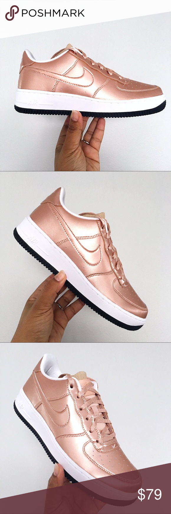 Nike Shoes | Son Of Force Mid Rose Gold Bronze 85 | Poshmark