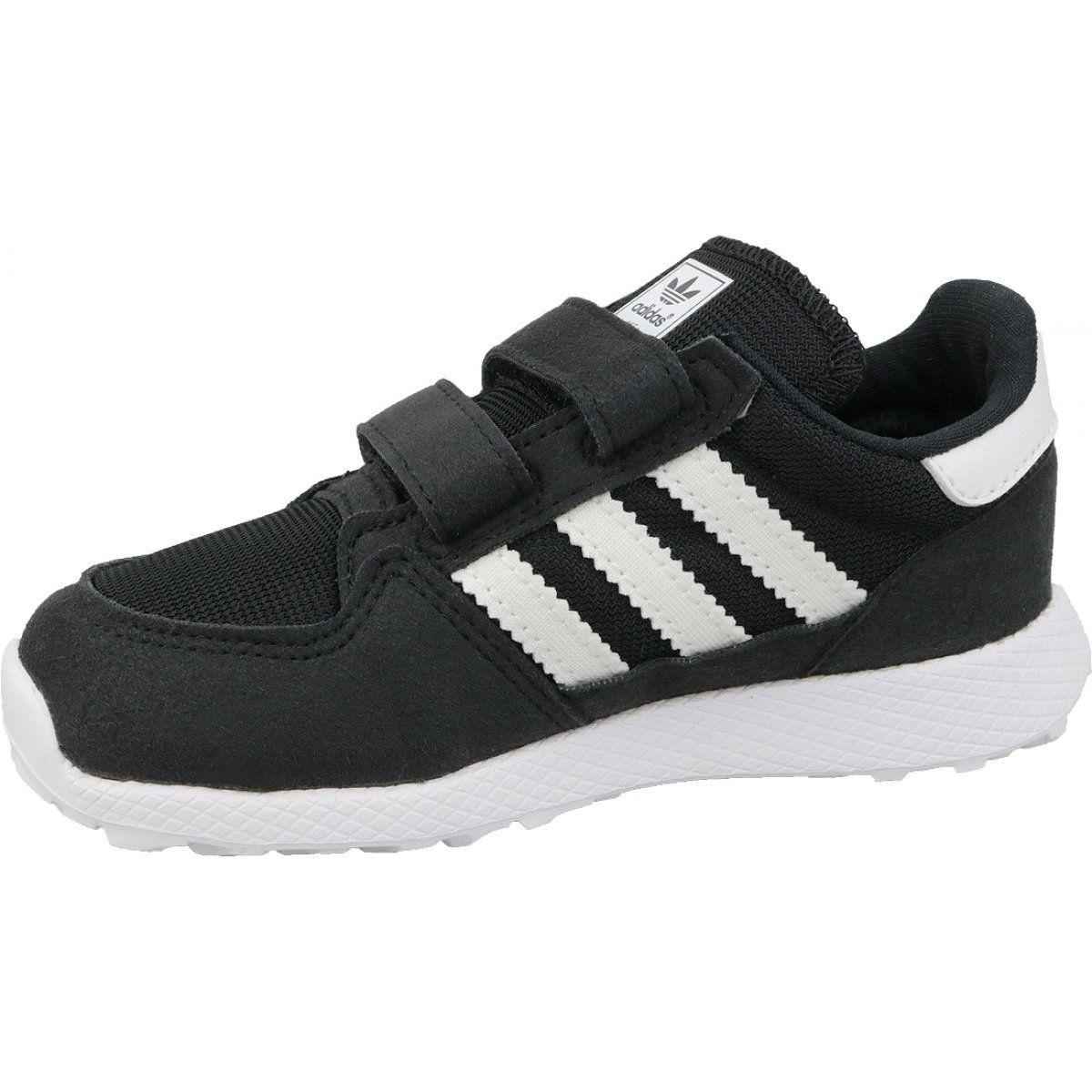 Buty Adidas Originals Forest Grove Cf Jr B37749 Czarne Sports Shoes Adidas Adidas Originals Black Shoes