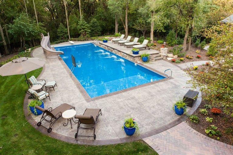20+ Marvelous Backyard Pool Ideas On A Budget   Backyard ... on Pool Patio Ideas On A Budget id=89430