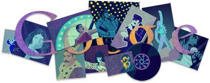 65th anniversary of the birth of Freddie Mercury