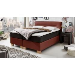 Reduced Box Spring Beds Box Spring Bed Sunshine 120 200 Cm Red Maintalmaintal Be In 2020 Bedroom Furniture Layout Box Spring Bed Traditional Bedroom Furniture