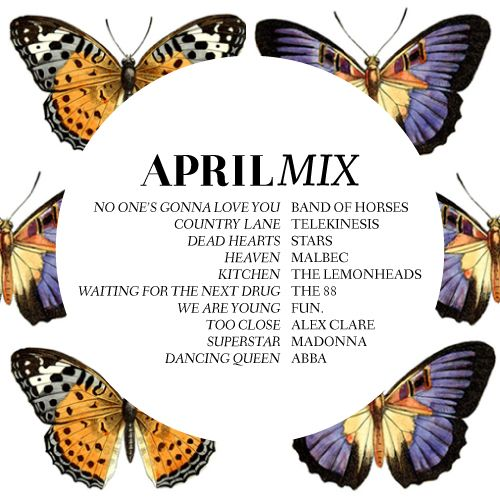 MUSIC | April Mix from designEDITOR