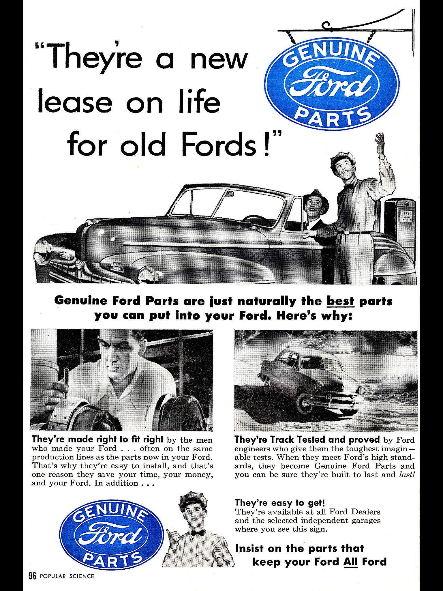 Pin By Mark Crichton On Old Car Ads Ford Parts Old Fords Ford