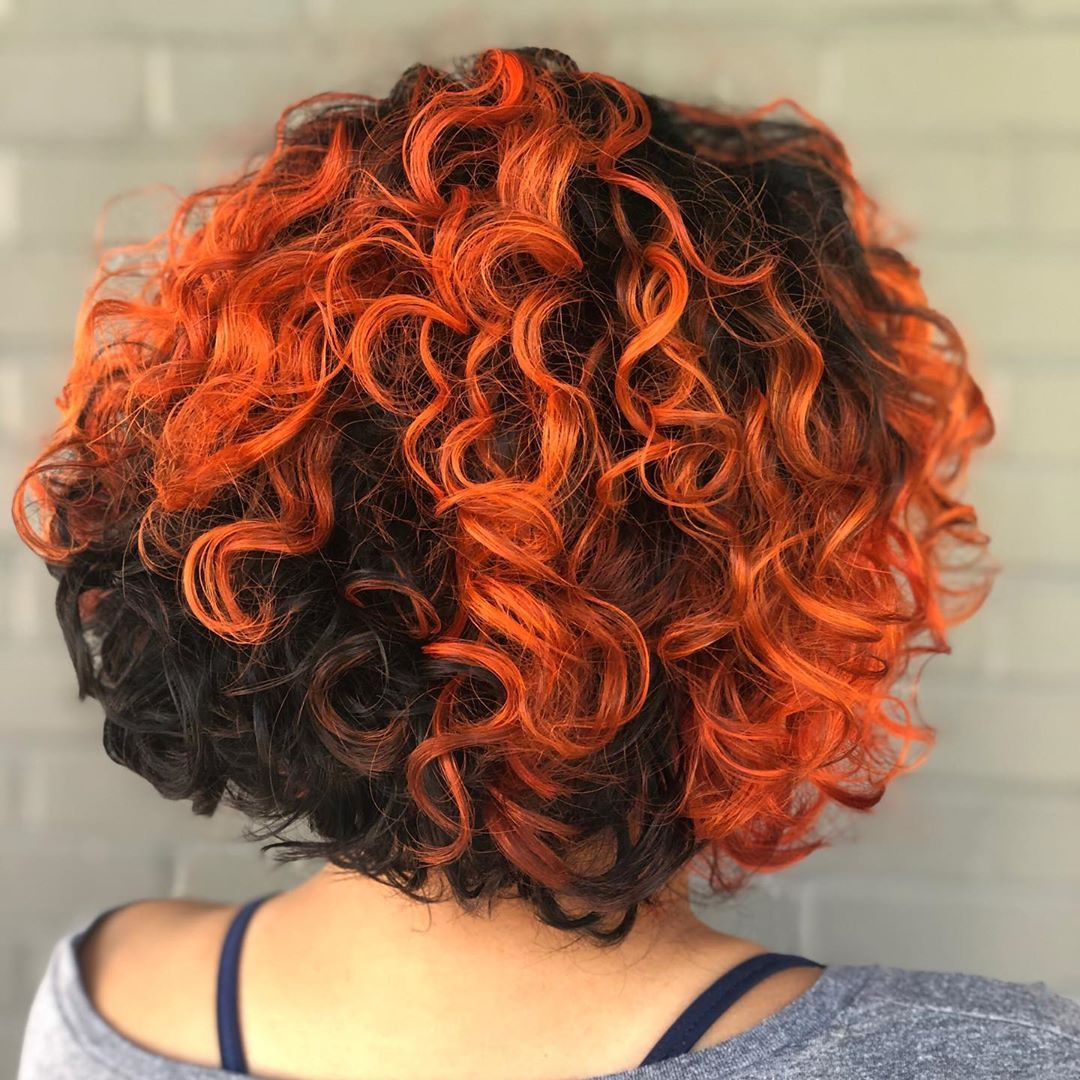 29 Short Curly Hair Ideas Trending Right Now (Hairstyles + Haircuts) in  2020 | Dying curly hair, Short curly hair, Dyed curly hair