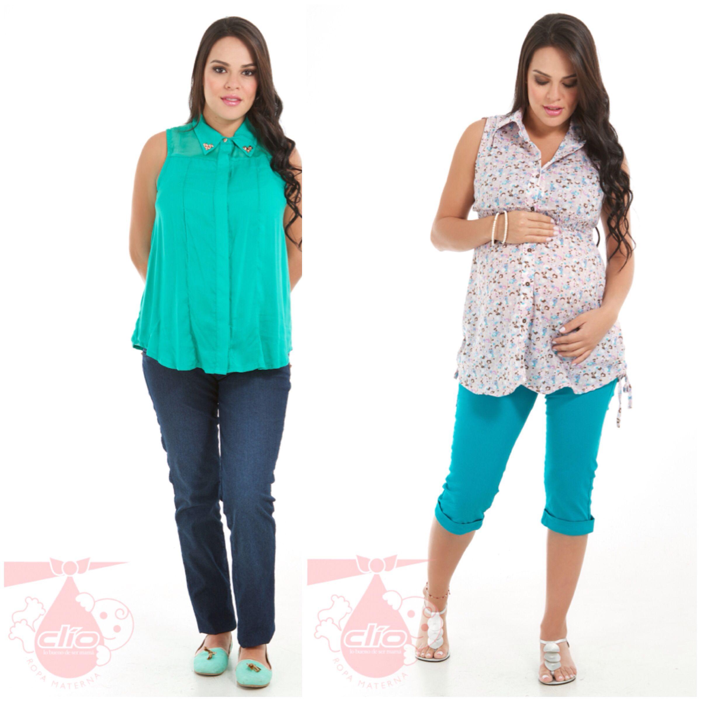 Nuevos diseños de #ropa #materna en www.clioropamaterna.com. #Moda ...