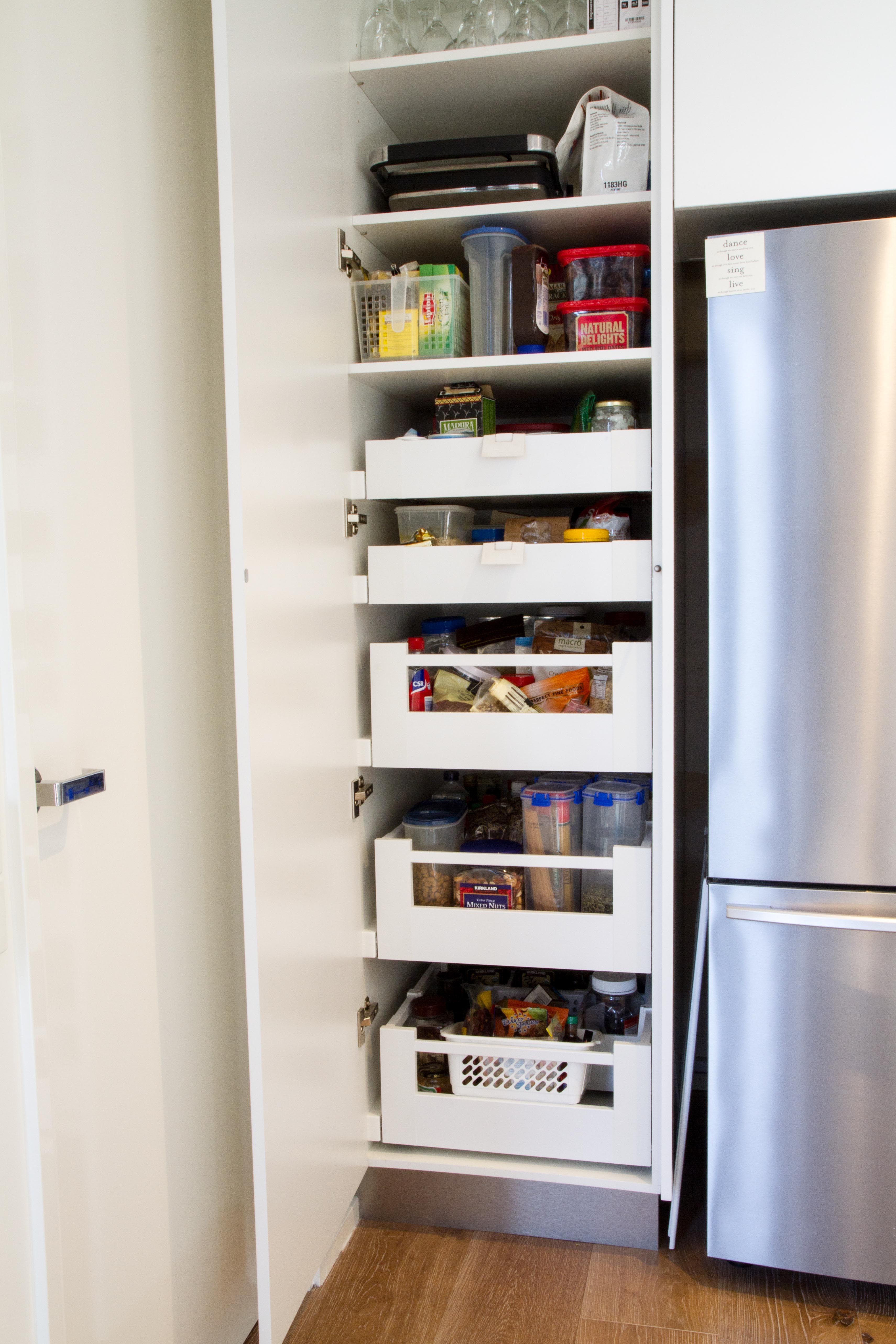 Pantry Drawers. Small Pantry. Www.thekitchendesigncentre.com.au
