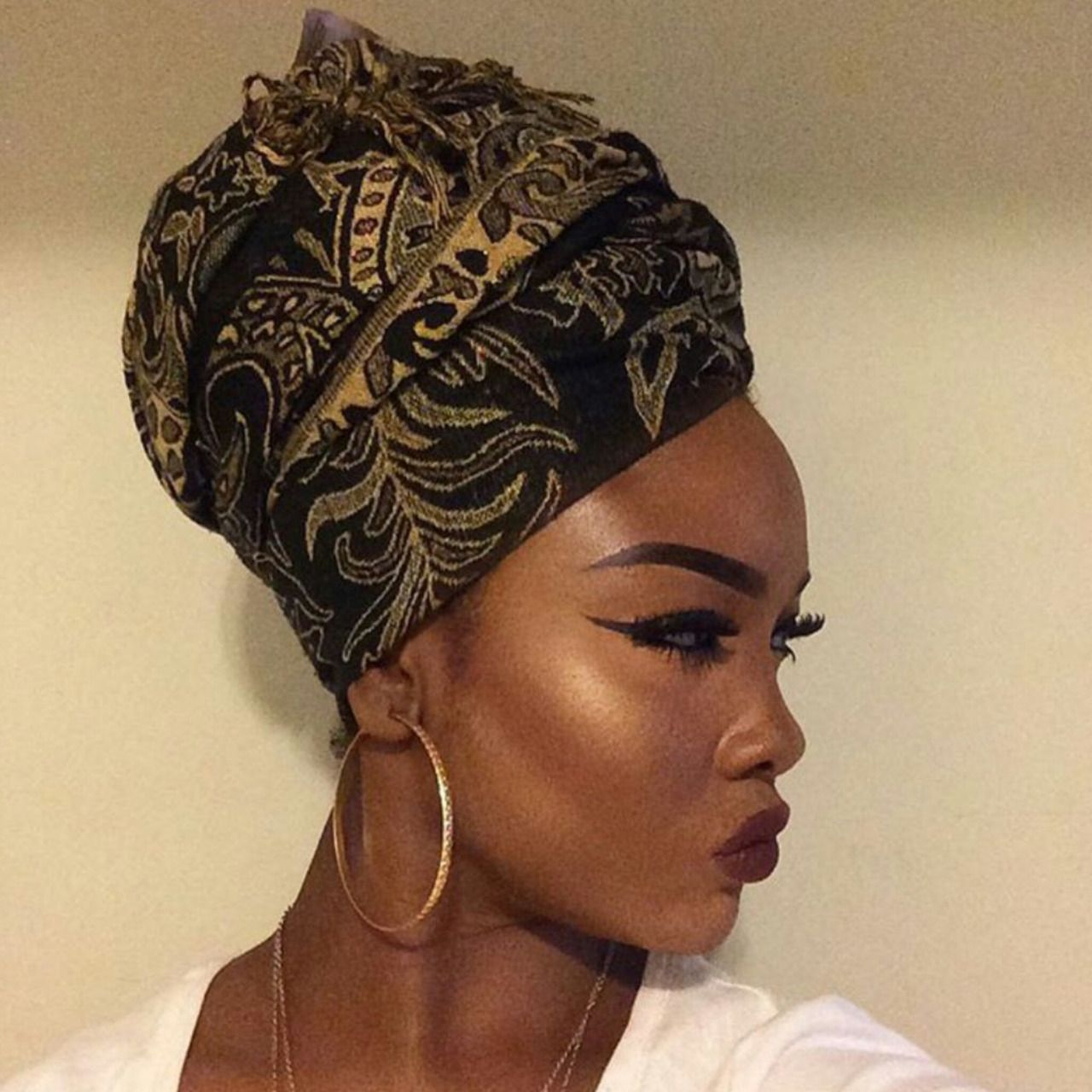 Afrodesiacworldwide Natural Hair Styles For Black Women Head Wraps Natural Black Women