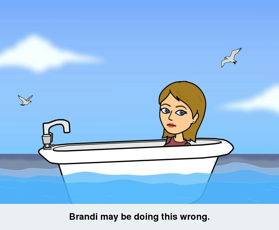 Brandi may be doing this wrong.