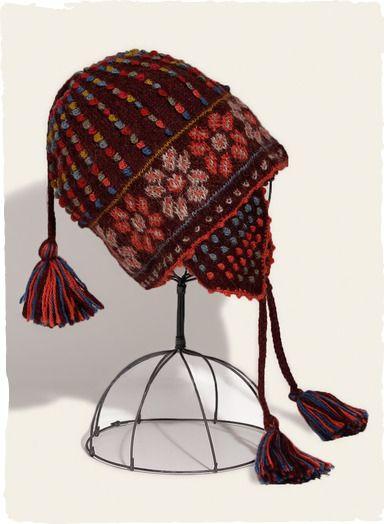 e9213872bae Artfully handknit of colorful alpaca yarns