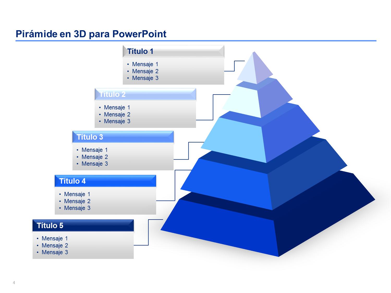 Piramide PPT | Diagramas Piramidales | Diagram, Templates ...