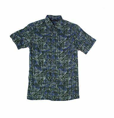 Tasso Elba Men Shirt Sage Green Size Large L Leaf Line Button Up Silk $65 #055 #fashion #clothing #shoes #accessories #men #mensclothing (ebay link)