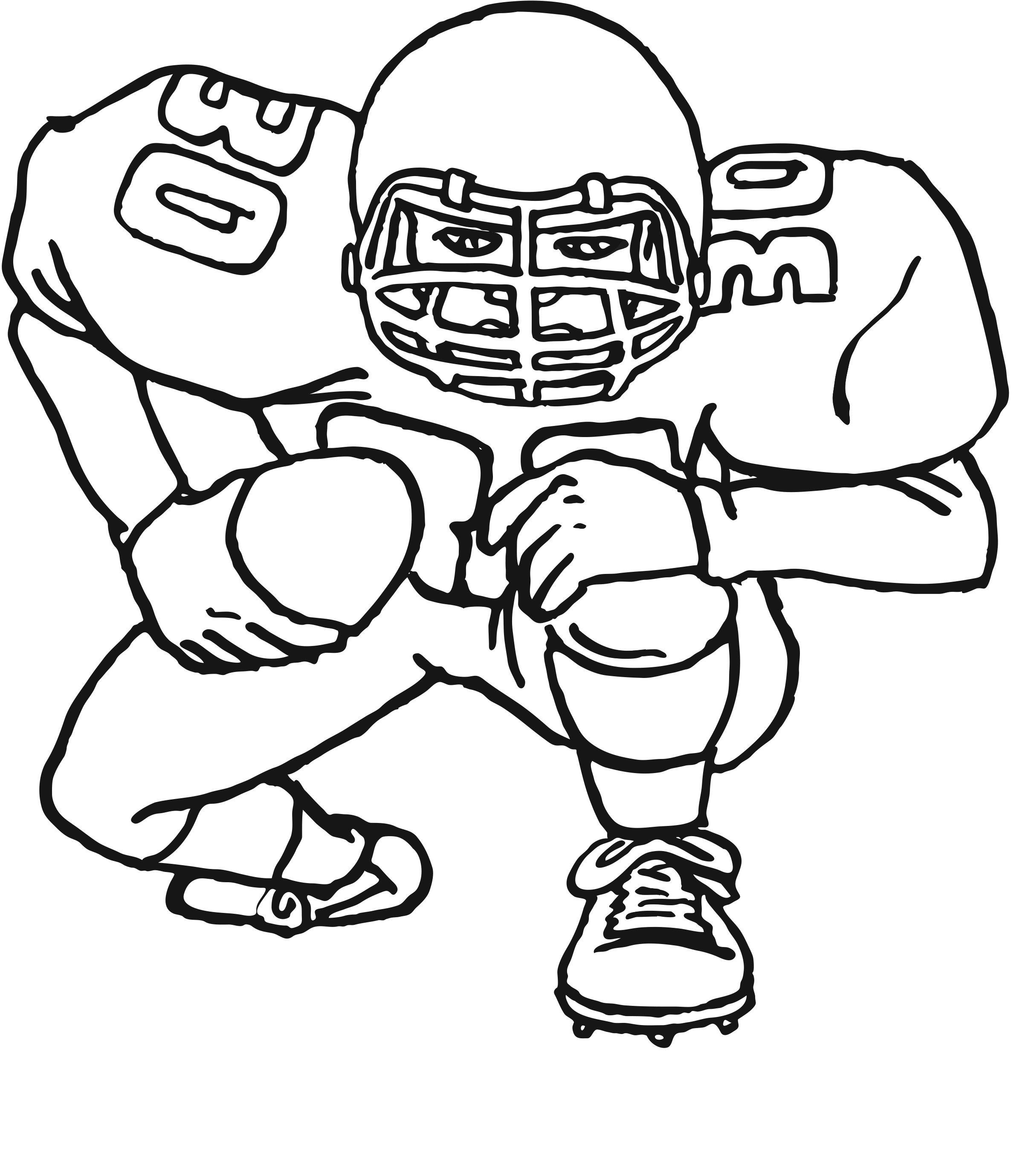 - Football Coloring Sheets Azspringtrainingexperience
