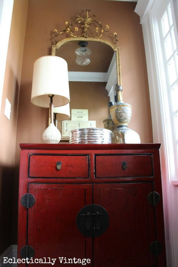 Tips on how to get a #collected look and mix styles in your home