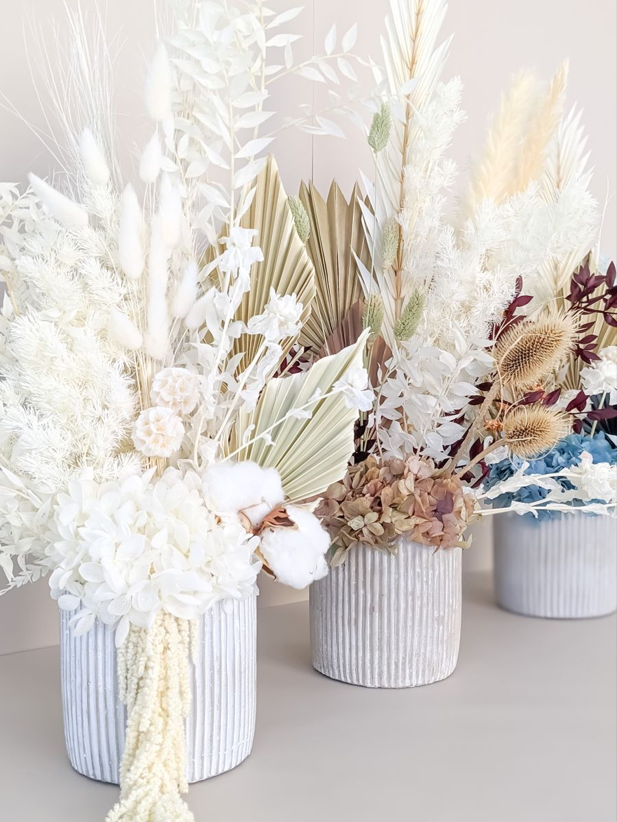 Arranged by h in 2020 dried flower arrangements home