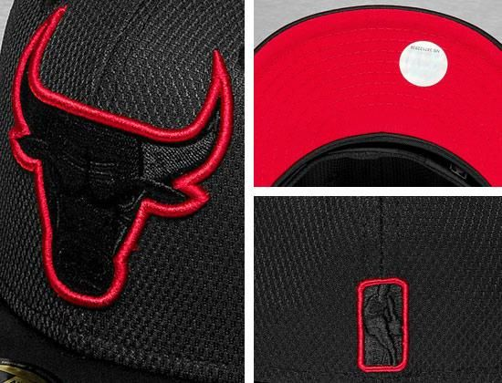 41ce71b3070 Chicago Bulls Diamond Neoprene 59Fifty Fitted Cap by NEW ERA x NBA ...
