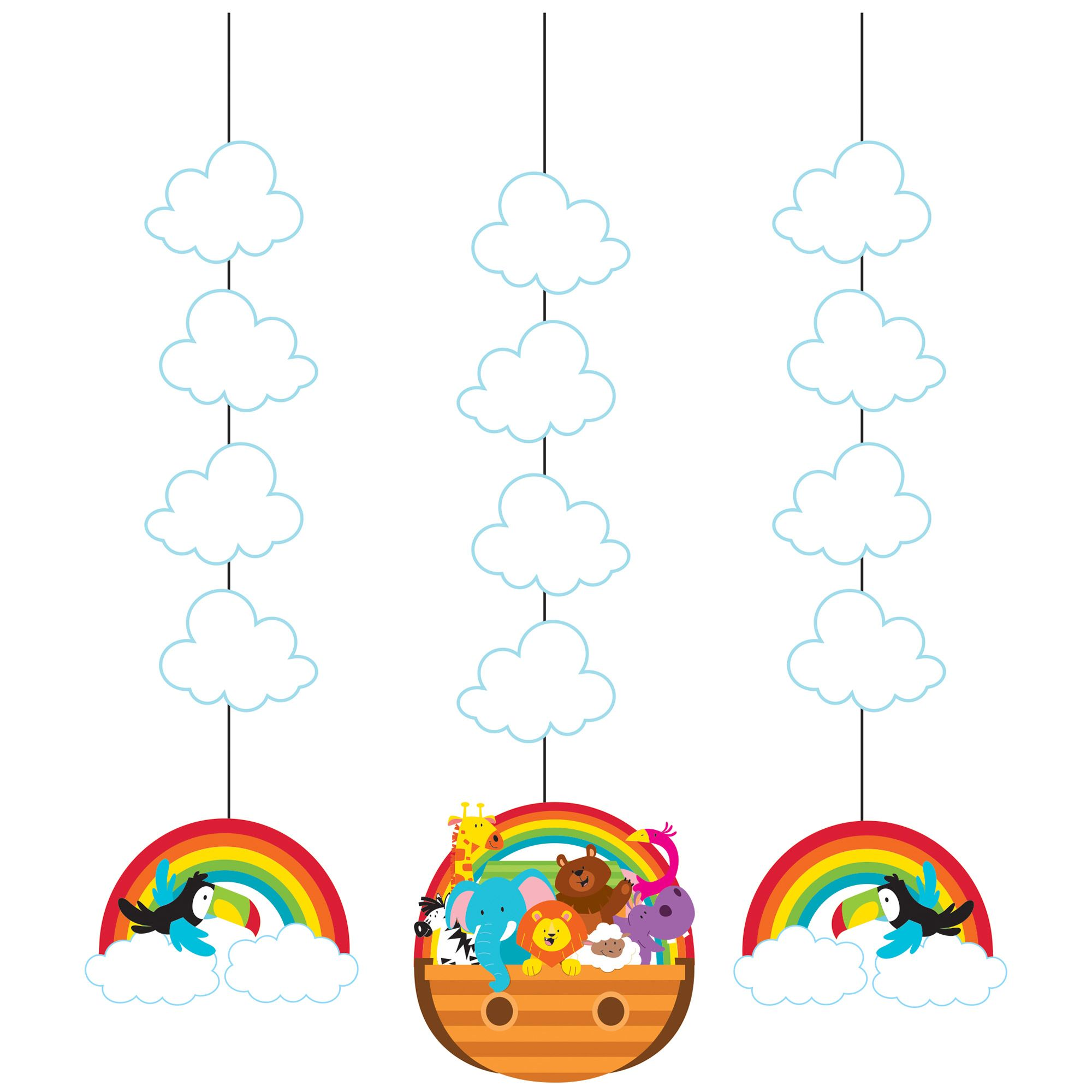 Noahs Ark Hanging Cutoutscase Of 18 Tags Noahs Ark Cutout