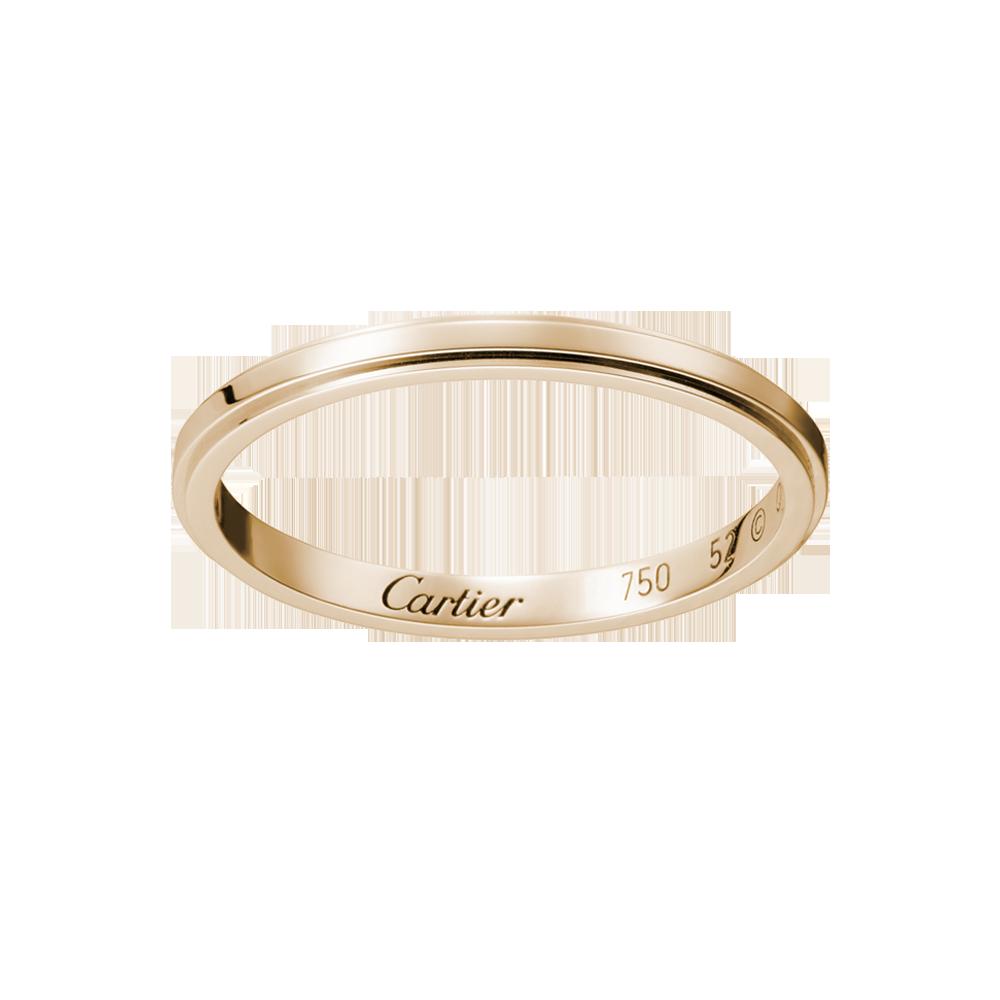 Cartier D'Amour Wedding Band, Rose Gold... http//www