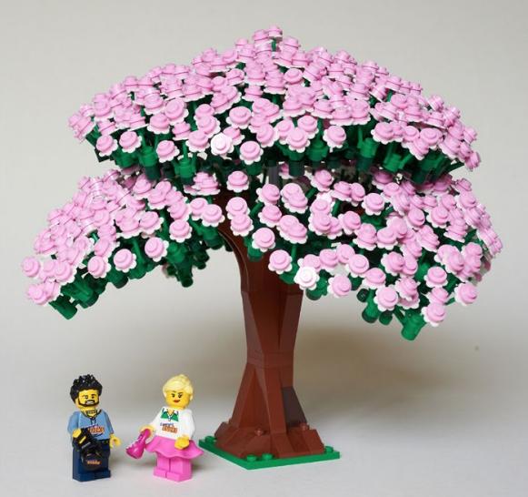 Pin By Ovidi Sambonet On Lego Lego Tree Lego Sculptures Lego Projects