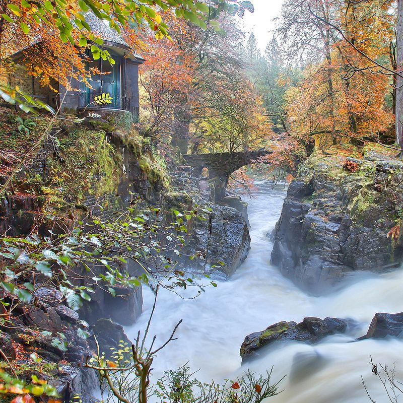 Amazing Places To See Scotland: The Hermitage In Full Clour