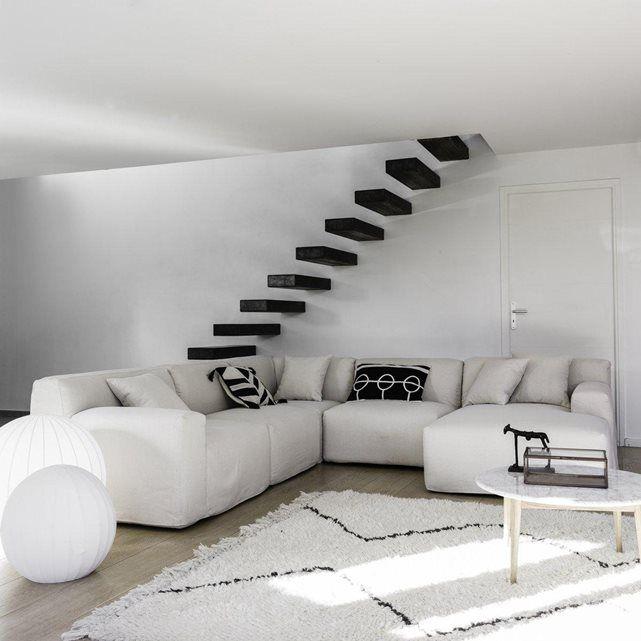 chauffeuse chubby toile coton lin bultex am pm la redoute mobile mobilier pinterest. Black Bedroom Furniture Sets. Home Design Ideas