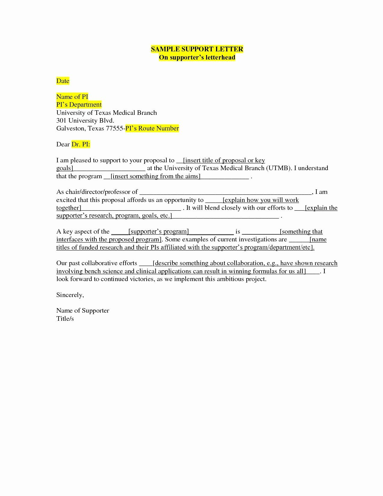 Sample Parole Support Letter From Employer from i.pinimg.com