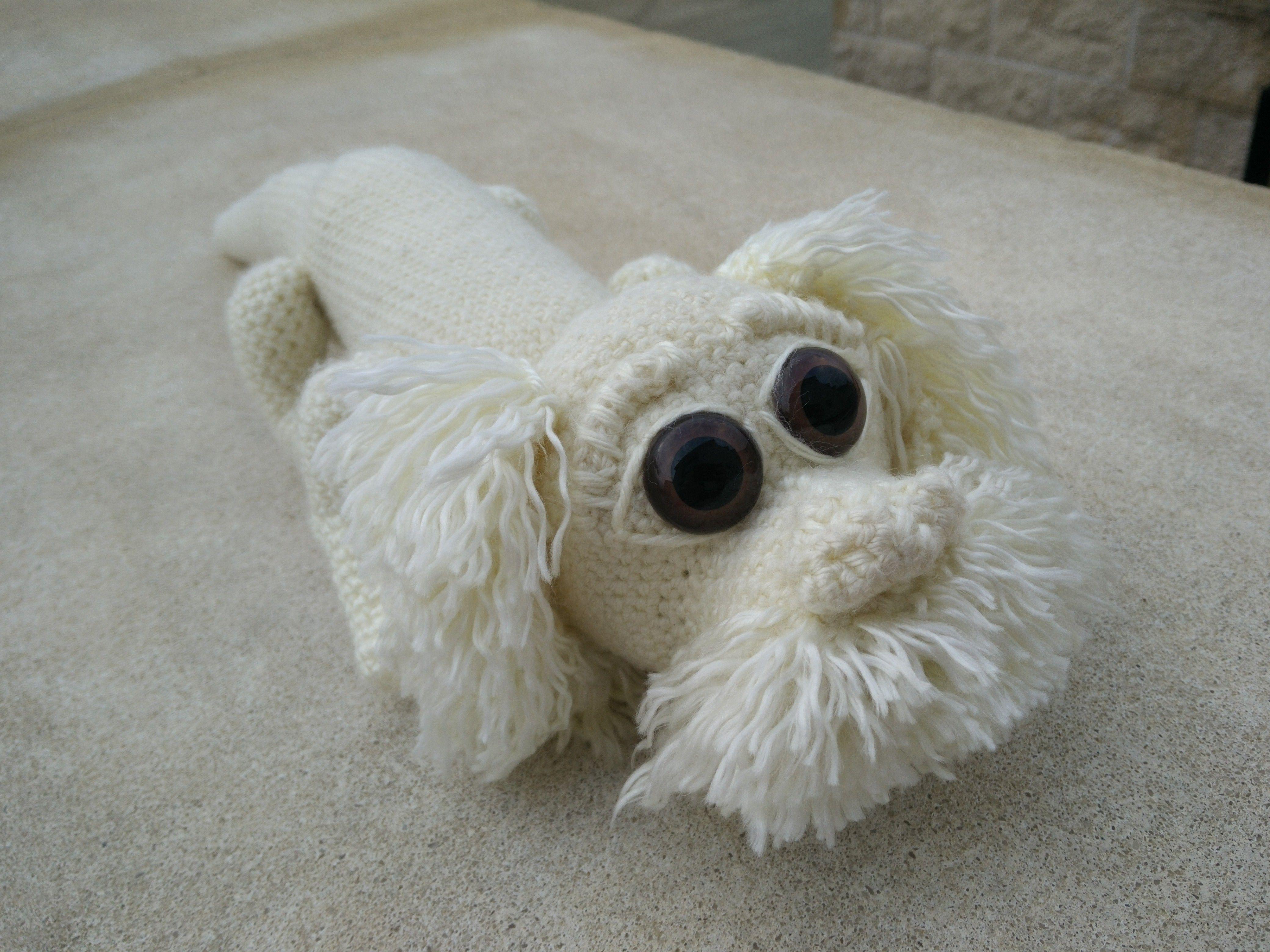 Crocheted Falcor from neverending story | fujur | Pinterest