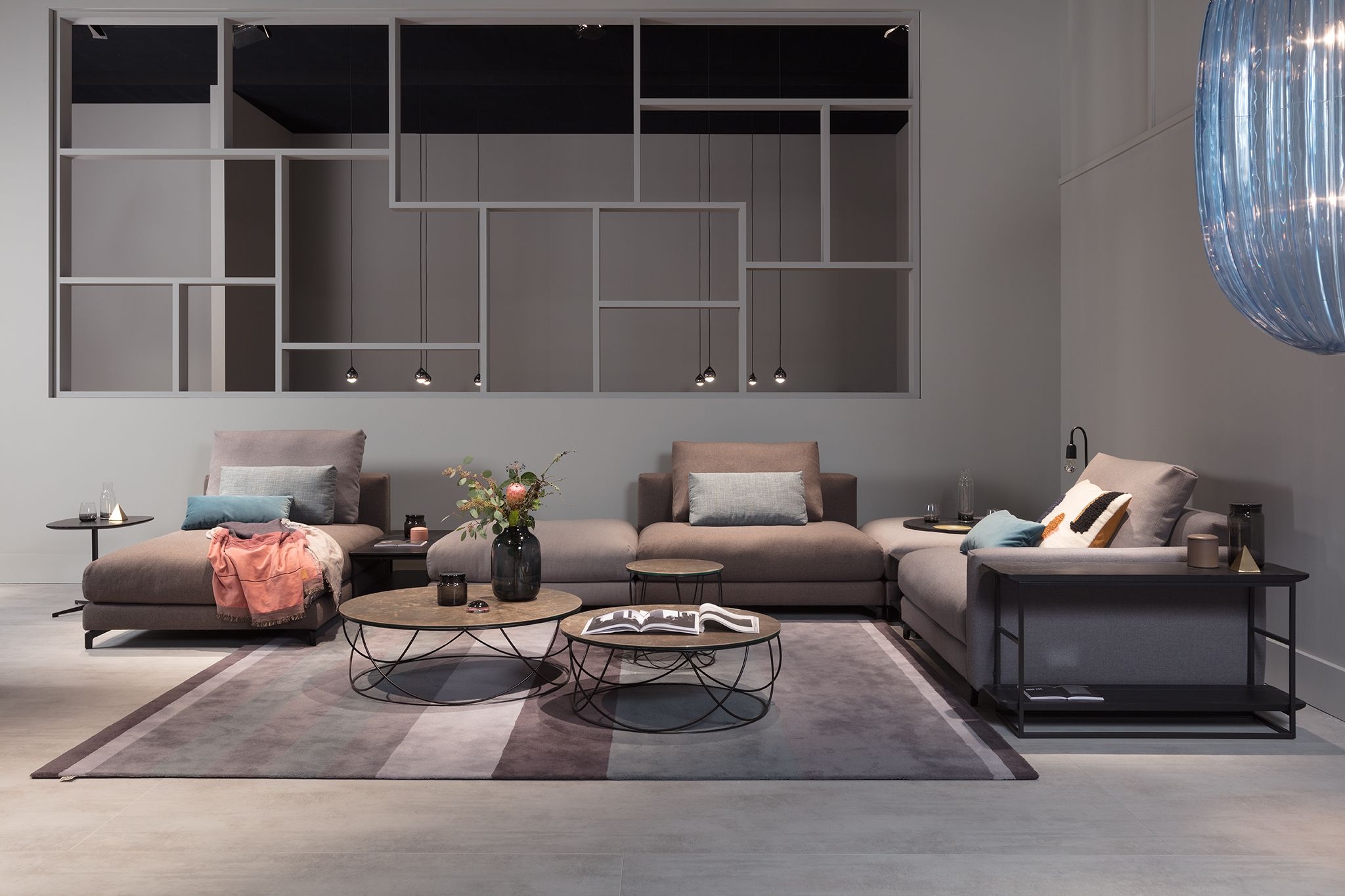 Rolf Benz Nuvola Sectiona Sofa At The Imm Cologne 2018 Available