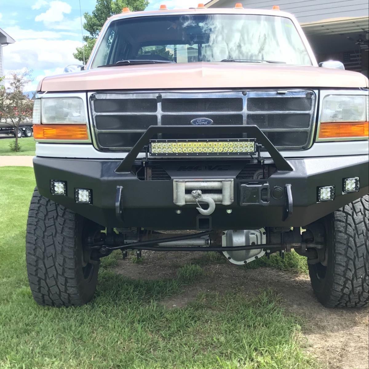 Diy Ford F250 F350 Bumper 582 Move Truck Bumpers Ford Trucks Ford Pickup Trucks