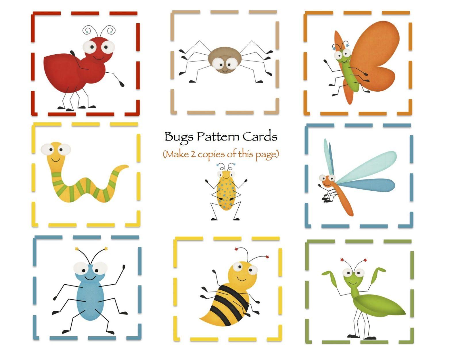 Preschool Printables B Is For Bug Printable