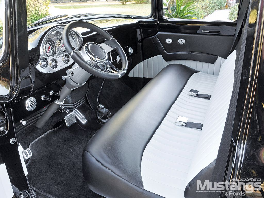 1956 ford f100 interior bench seat interior pinterest for Camiones ford interior