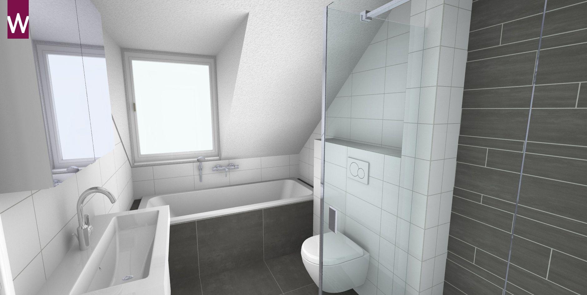 Kleine Badkamer Amsterdam : Complete badkamer onder schuin plafond kleine badkamer