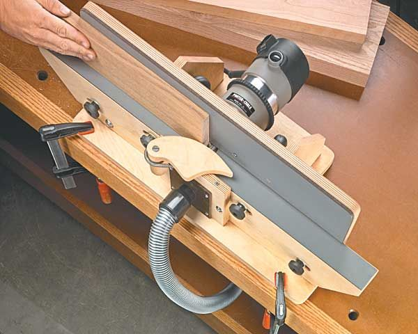 Shop built router jointer woodworking plan jigs fences more shop built router jointer woodworking plan greentooth Gallery