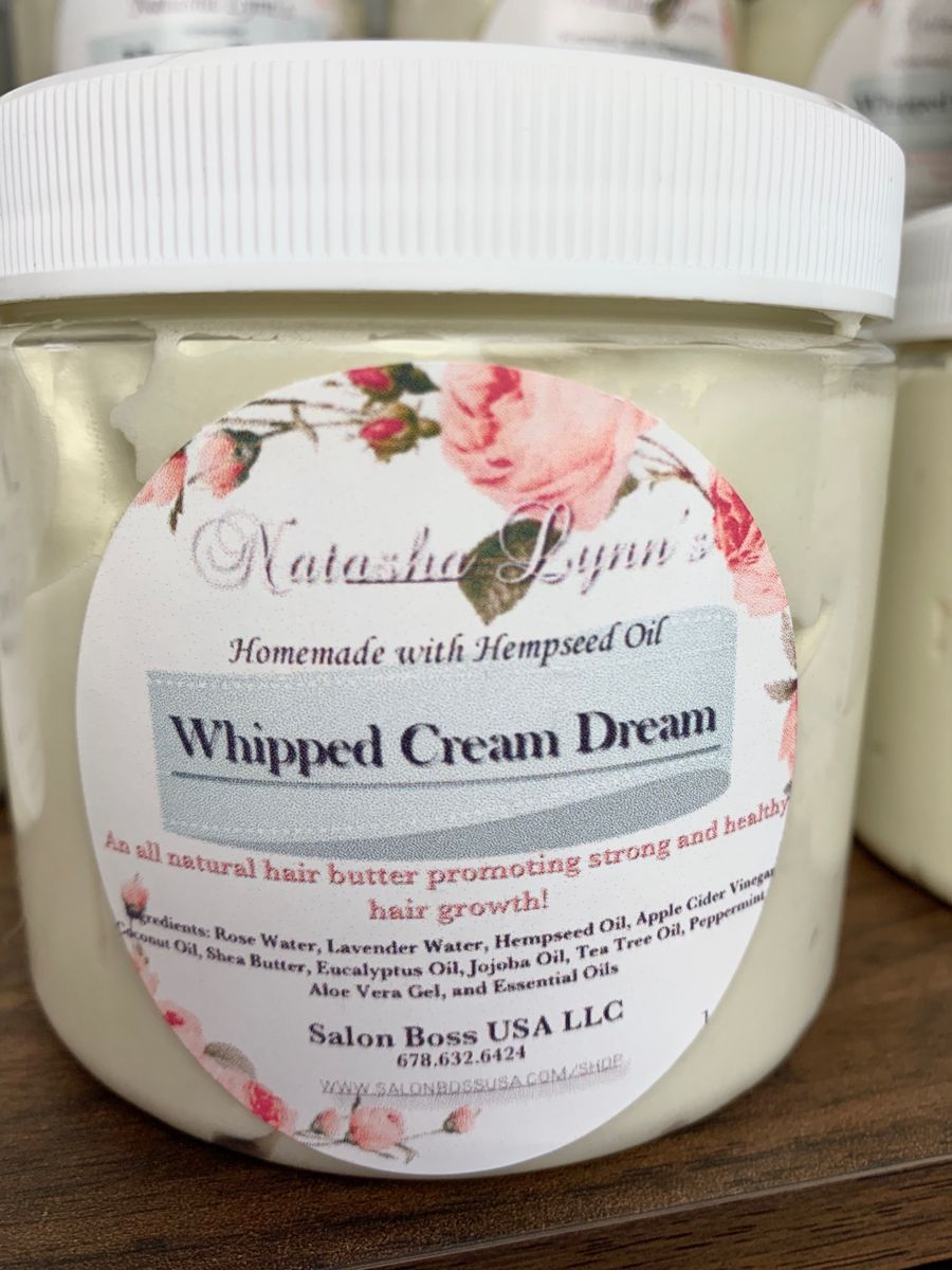 Whipped Cream Dream Hair Growth Butter | Etsy