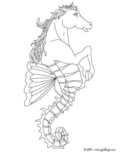 Hipocampo ser mitológico acuático   seres mitologicos   Pinterest ...