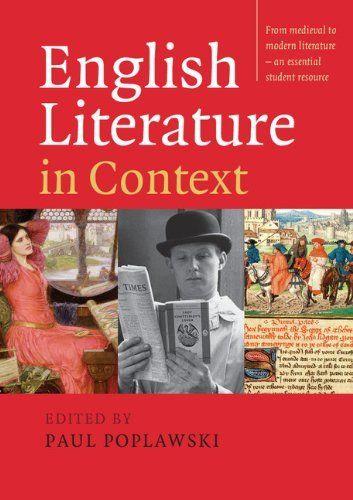 english literature books for university students