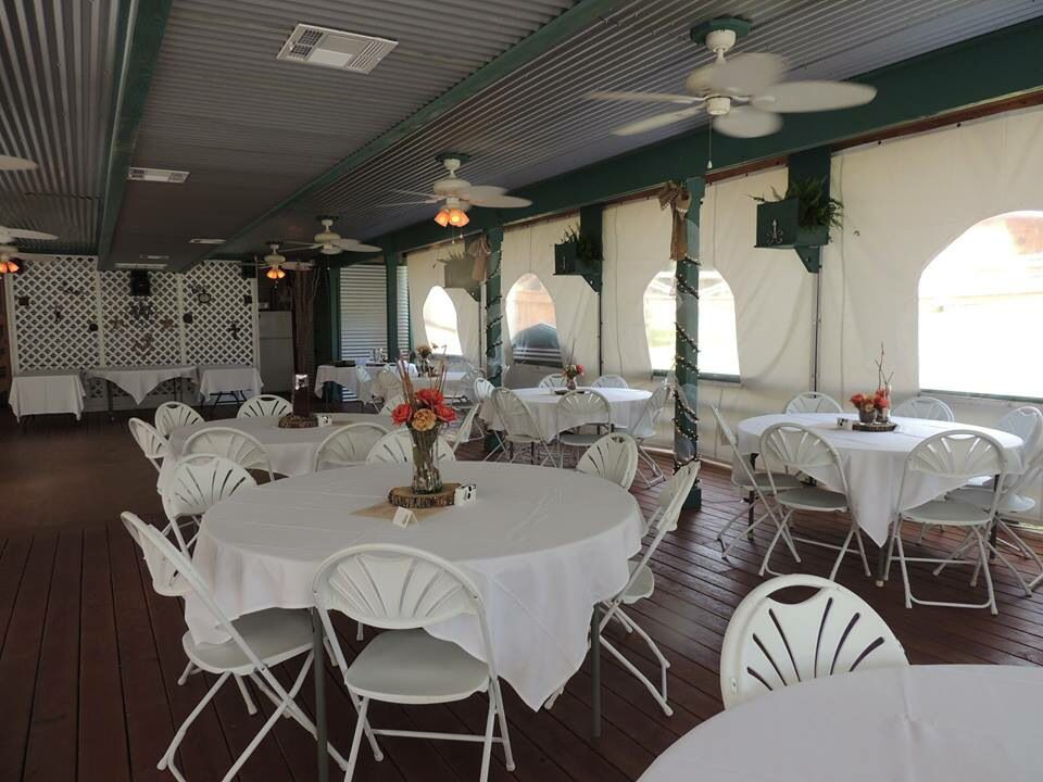 Pavilion Decorated For A Wed Edgewood Plantation B B