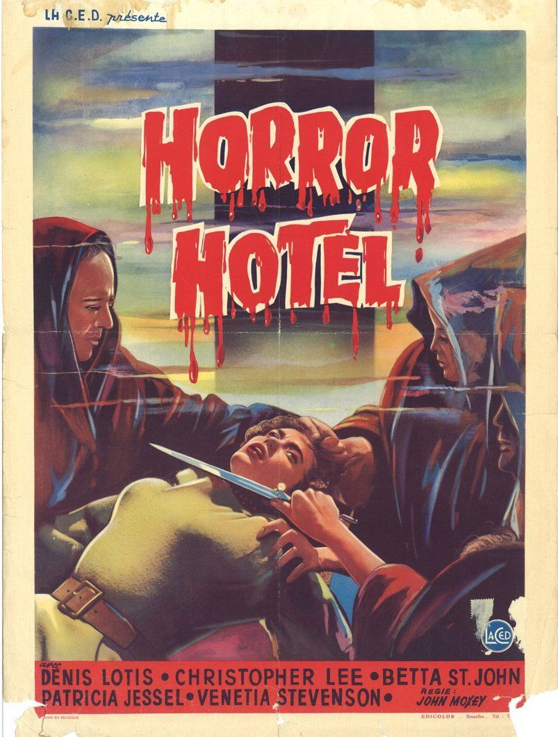 Horror Hotel 1960 Movie Posters
