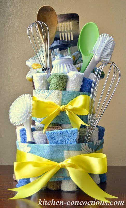 Küchenzubereitungen: Kreative Seifenideen: Geschirrtuchkuchen (Schritt-für-Schritt-Anleitung) #dishtowels