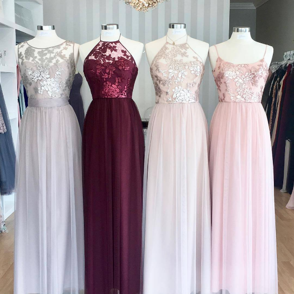 Holiday Wedding Ready In Latte, Ruby, Fawn And Blush